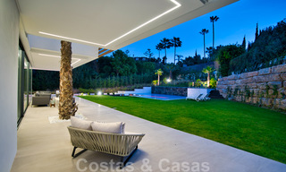 Ready to move in modern villa for sale within walking distance to amenities and Puerto Banus in Nueva Andalucia, Marbella 30709