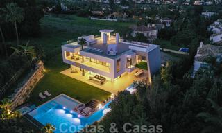 Ready to move in modern villa for sale within walking distance to amenities and Puerto Banus in Nueva Andalucia, Marbella 30710