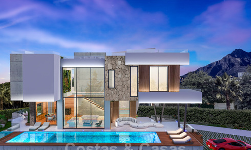 Top location, modern luxury villa for sale in a well-established beachside urbanisation on the Golden Mile in Marbella 30761
