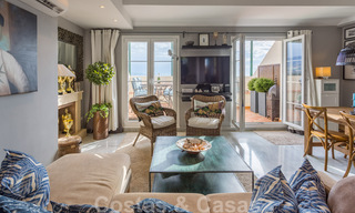 Renovated penthouse apartment for sale with sea views and within walking distance to all amenities and Puerto Banus in Nueva Andalucia, Marbella 31181
