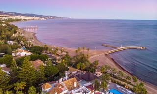 Prime location, fully renovated penthouse with partial sea views for sale in Puente Romano - Golden Mile, Marbella 31244