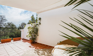 Renovated family home for sale in gated complex close to Puente Romano on the Golden Mile in Marbella 31283