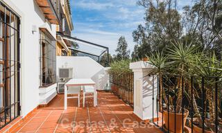 Renovated family home for sale in gated complex close to Puente Romano on the Golden Mile in Marbella 31287