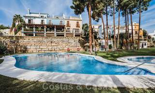 Renovated family home for sale in gated complex close to Puente Romano on the Golden Mile in Marbella 31292