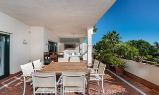 Spacious luxury flat with a large terrace in a small residence on the Golden Mile for sale in Marbella 31449
