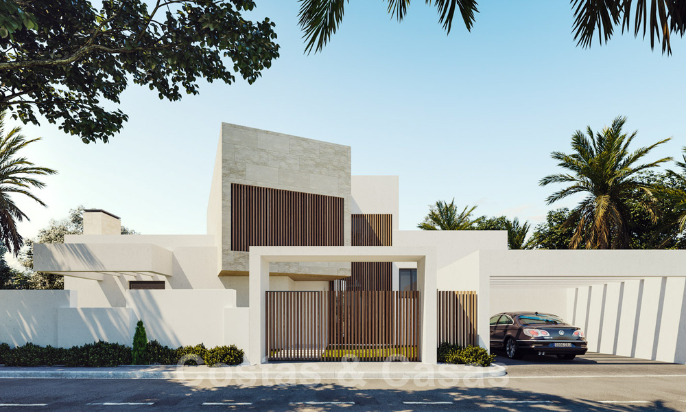 Modern new villas with sea views for sale, located in a gated and secure community in Benahavis - Marbella 31567