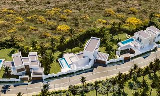 Modern new villas with sea views for sale, located in a gated and secure community in Benahavis - Marbella 31569