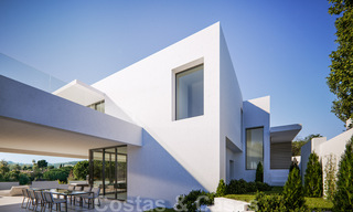 Modern new villas with sea views for sale, located in a gated and secure community in Benahavis - Marbella 31570
