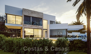 Modern new villas with sea views for sale, located in a gated and secure community in Benahavis - Marbella 31576