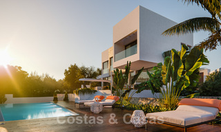 Modern new villas with sea views for sale, located in a gated and secure community in Benahavis - Marbella 31579