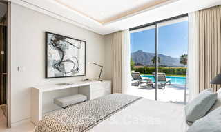 Refurbished luxury villa in contemporary style for sale, close to amenities in the golf valley of Nueva Andalucia, Marbella 31733