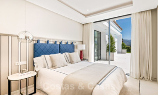 Refurbished luxury villa in contemporary style for sale, close to amenities in the golf valley of Nueva Andalucia, Marbella 31735