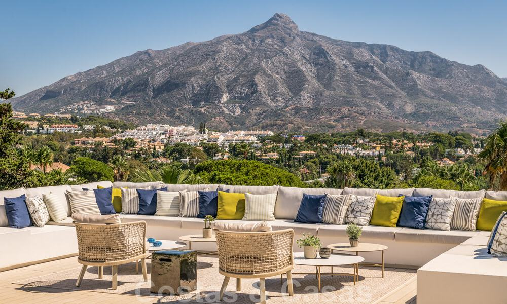 Refurbished luxury villa in contemporary style for sale, close to amenities in the golf valley of Nueva Andalucia, Marbella 31743
