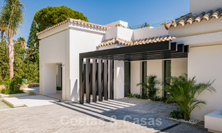 Refurbished luxury villa in contemporary style for sale, close to amenities in the golf valley of Nueva Andalucia, Marbella 31744