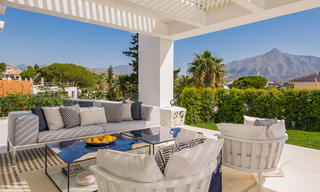 Refurbished luxury villa in contemporary style for sale, close to amenities in the golf valley of Nueva Andalucia, Marbella 31747