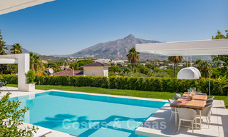 Refurbished luxury villa in contemporary style for sale, close to amenities in the golf valley of Nueva Andalucia, Marbella 31761