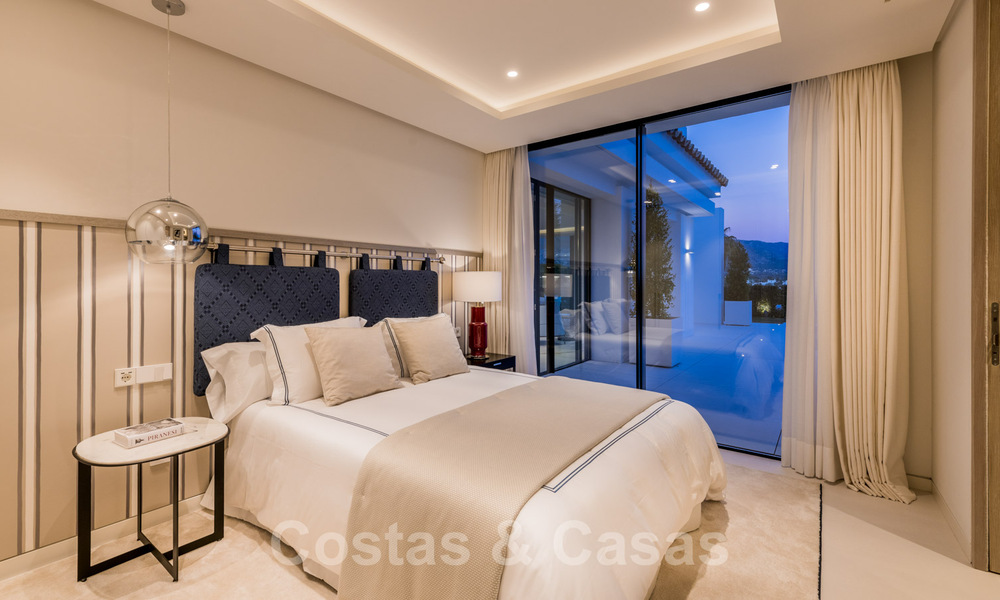 Refurbished luxury villa in contemporary style for sale, close to amenities in the golf valley of Nueva Andalucia, Marbella 31773