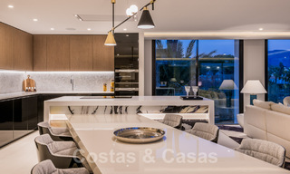 Refurbished luxury villa in contemporary style for sale, close to amenities in the golf valley of Nueva Andalucia, Marbella 31776