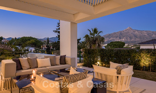 Refurbished luxury villa in contemporary style for sale, close to amenities in the golf valley of Nueva Andalucia, Marbella 31783
