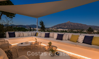 Refurbished luxury villa in contemporary style for sale, close to amenities in the golf valley of Nueva Andalucia, Marbella 31792