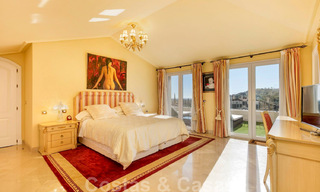 Spacious luxury penthouse with panoramic views for sale on a golf course in Nueva Andalucia, Marbella 32090