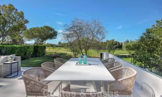 Renovated spacious luxury apartment for sale, frontline golf and ready to move into, Nueva Andalucia, Marbella 32134