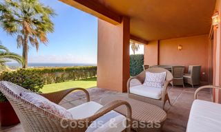 Luxury apartment for sale with private garden and sea views in a luxury five-star golf resort in Benahavis - Marbella 33324