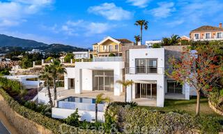 Ready to move in, new modern luxury villa for sale with sea views in Marbella - Benahavis in gated community 33585
