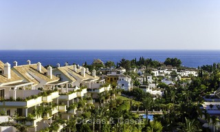 Luxury apartment for sale on the Golden Mile between central Marbella and Puerto Banus 13601
