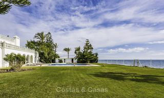 Stately, very luxurious beachfront palace for sale, between Estepona and Marbella 11645