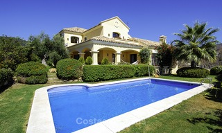 Luxury Villa for sale on golf resort Marbella - Benahavis 14075