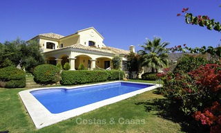 Luxury Villa for sale on golf resort Marbella - Benahavis 14076