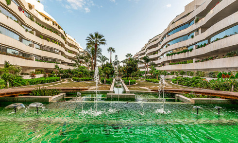 Exclusive beachside apartments and penthouses for sale, Puerto Banus - Marbella 23445