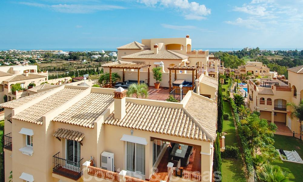 Luxury frontline golf apartments for sale, Marbella - Estepona 24289