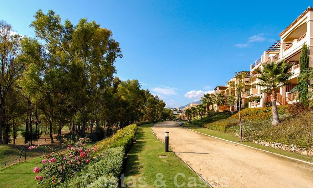 Luxury frontline golf apartments for sale, Marbella - Estepona 24301