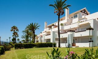 Beachfront and first line golf apartments for sale in Los Monteros Palm Beach, Marbella 26165
