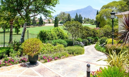 Frontline golf Luxury apartments and penthouses for sale in Nueva-Andalucia, Marbella 2306