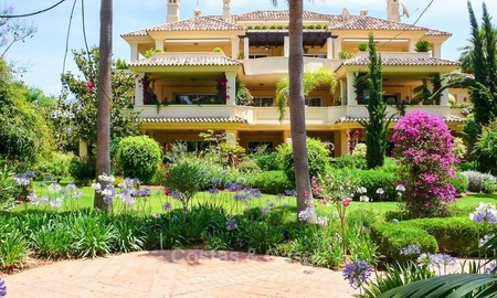 Frontline golf Luxury apartments and penthouses for sale in Nueva-Andalucia, Marbella 2309