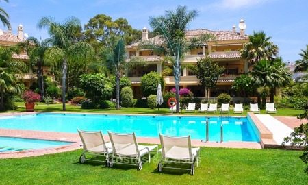 Frontline golf Luxury apartments and penthouses for sale in Nueva-Andalucia, Marbella 2311