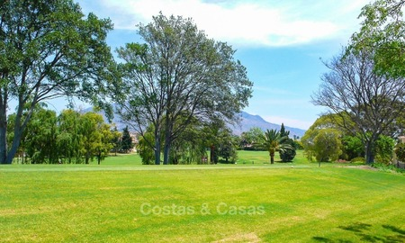 Frontline golf Luxury apartments and penthouses for sale in Nueva-Andalucia, Marbella 2315