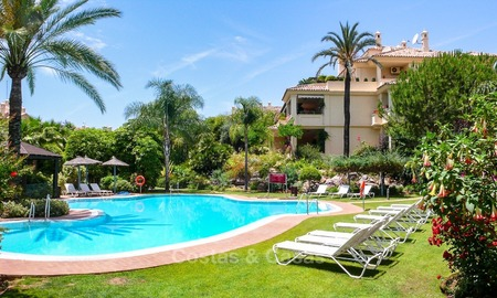 Frontline golf Luxury apartments and penthouses for sale in Nueva-Andalucia, Marbella 2317