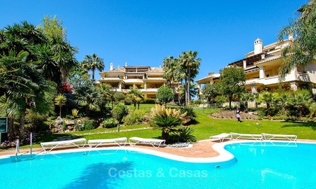 Frontline golf Luxury apartments and penthouses for sale in Nueva-Andalucia, Marbella 2325