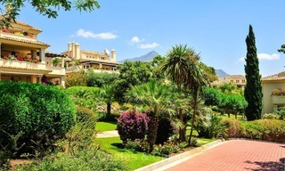 Frontline golf Luxury apartments and penthouses for sale in Nueva-Andalucia, Marbella 2353
