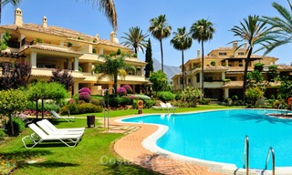 Frontline golf Luxury apartments and penthouses for sale in Nueva-Andalucia, Marbella 2365