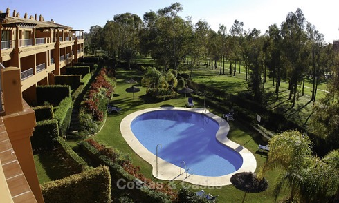 Luxury frontline golf apartments for sale Marbella - Benahavis 11619