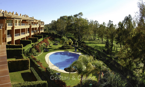 Luxury frontline golf apartments for sale Marbella - Benahavis 26747