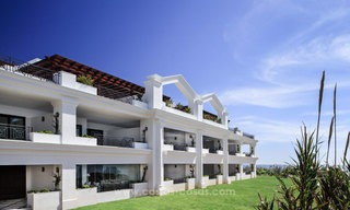 Frontline beach luxury penthouse to buy, Estepona, Costa del Sol, first line beach with open sea view and private pool 9819