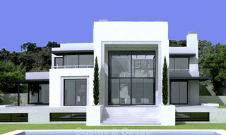 Modern new villa for sale in Marbella with unobstructed panoramic sea views 15824