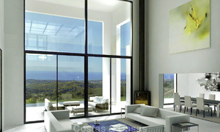 Modern new villa for sale in Marbella with unobstructed panoramic sea views 15826