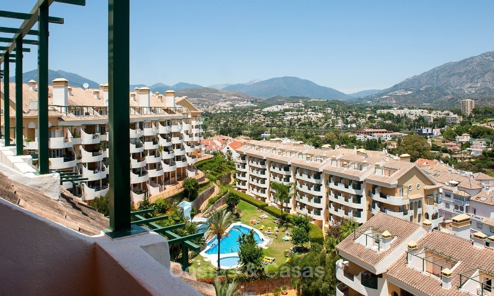 Penthouse apartment for sale walking distance puerto banus for Penthouse apartment for sale
